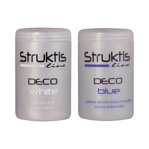 DECO BLUE - WHITE DECO