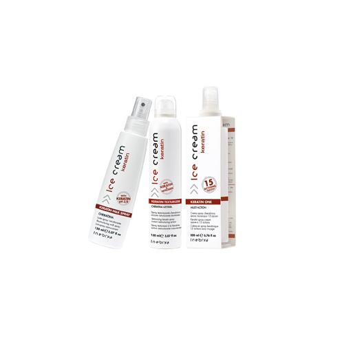 HELADO queratina - aerosol, texturizador - INEBRYA