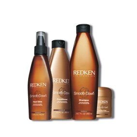 SMOOTH DOWN - para cabellos muy secos y rebeldes - REDKEN