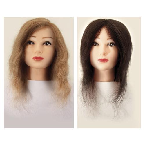 PLAUKŲ modelis menkių. 003 - 004 - HAIR MODELS